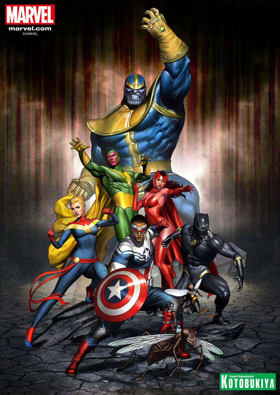 kotobukiya-avengers-series-2-artfx-statues-preview