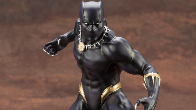 kotobukiya-black-panther-artfx-statue