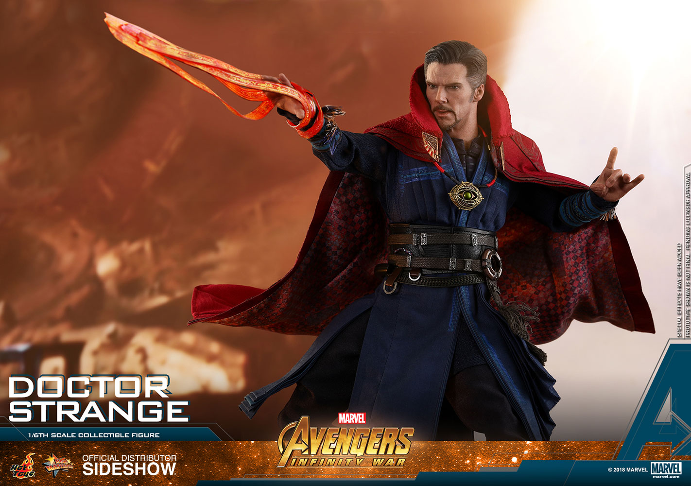 Toys & Hobbies Hard-Working The Avengers Super Hero Marvel Doctor Strange Iron Studios Figure Action Pvc Collectible Model Toy Fashionable Patterns