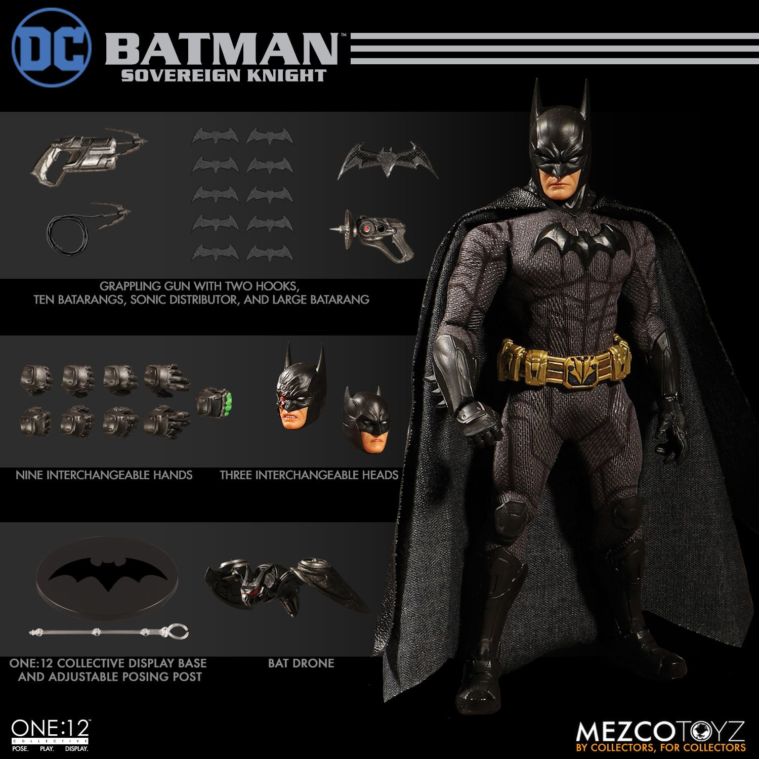 Mezco and its line of one12 collective figures have done a good job of creating figures for characters that dont get a lot of collectibles made