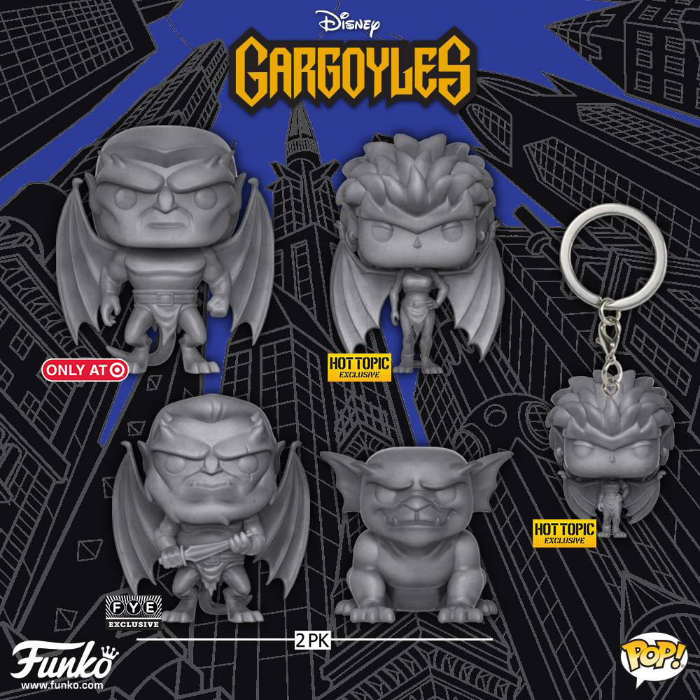 funko-gargoyles-pops-exclusives