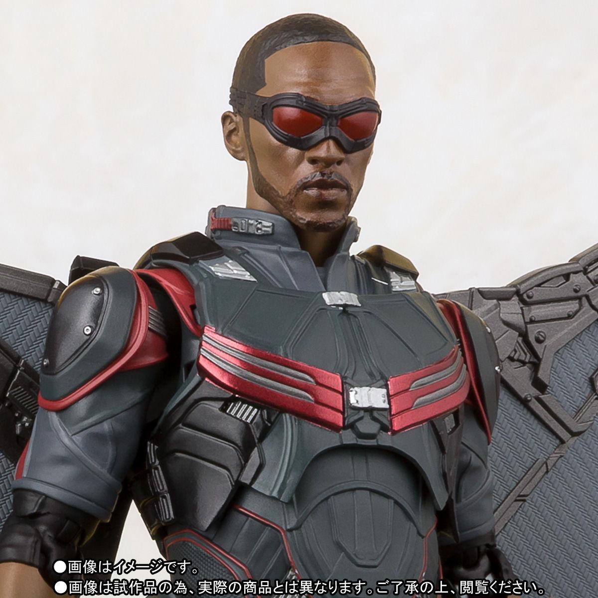 Avengers falcon sh figuarts figure - Faucon avengers ...