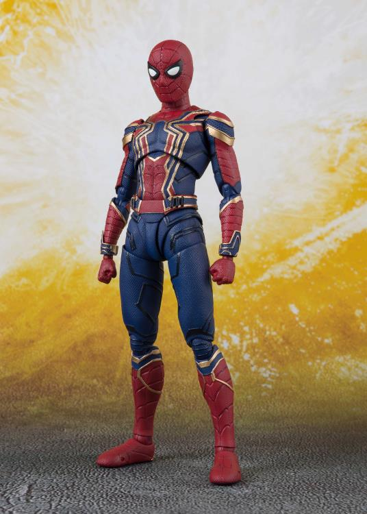 iron spider sh figuarts action figure 9