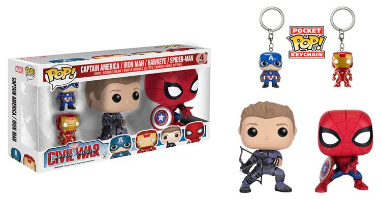 captin-america-civl-war-pop-vinyl-figure-and-key-chain-4-pack