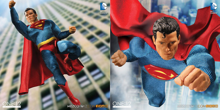 Classic Superman One 12 Collective Action Figure By Mezco