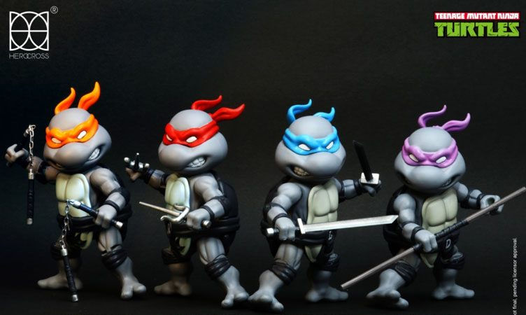 tmnt-herocross-black-and-white-diecast-figures