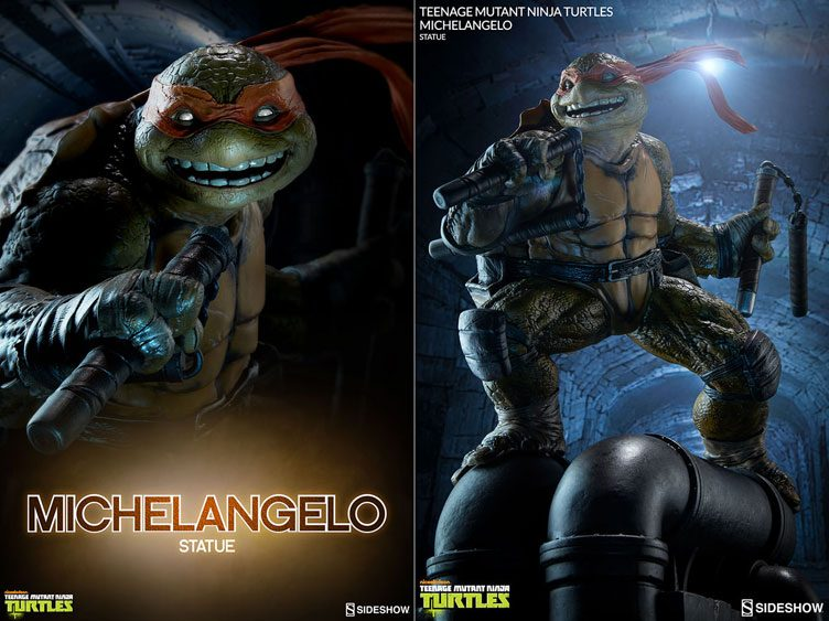 tmnt-mikey-sideshow-statue