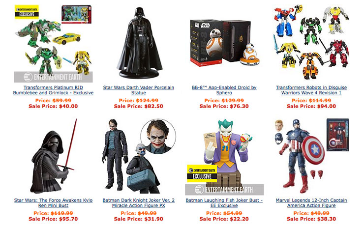 cyber-monday-toy-sale-entertainment-earth