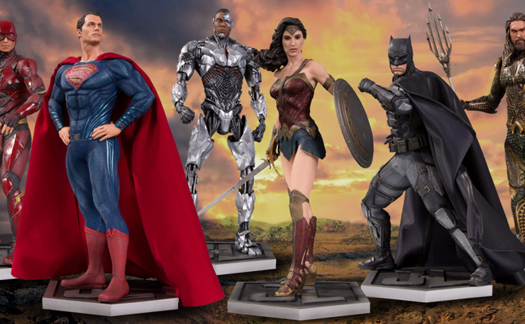 dc-justice-league-movie-statues
