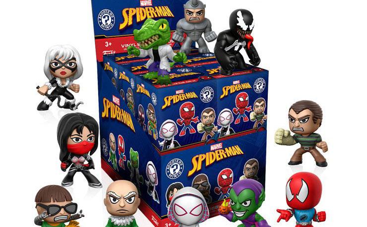 spiderman-funko-vinyl-figures