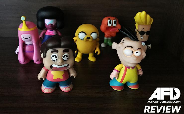 Cartoon Network Titans Vinyl Mini Figures Brand New