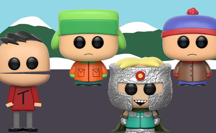 South Park Wave 2 Pop Vinyl Figures By Funko