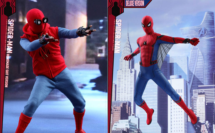 hot-toys-spiderman-homecoming-figures