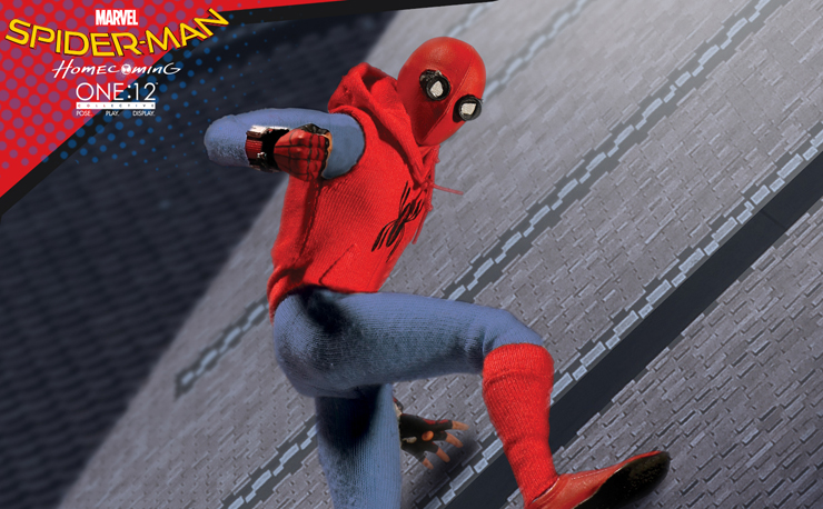 mezco-toyz-spiderman-homemade-suit-action-figure