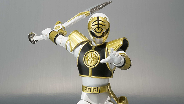 sh-figuarts-white-power-ranger-action-figure