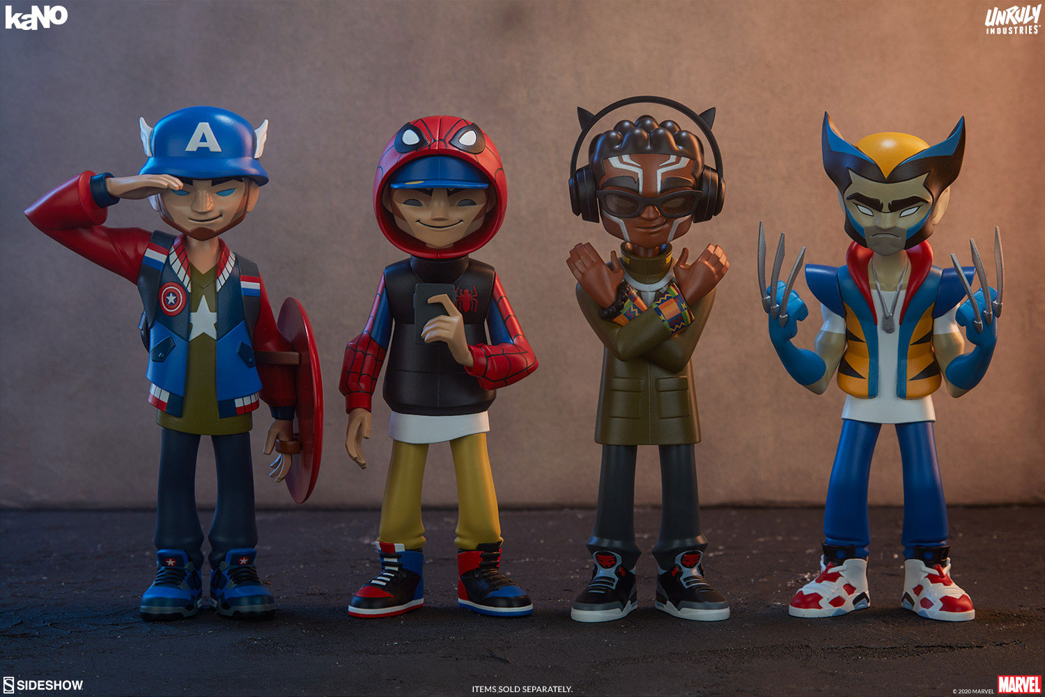 unruly-industries-kano-marvel-designer-toy-figures-in-sneakers